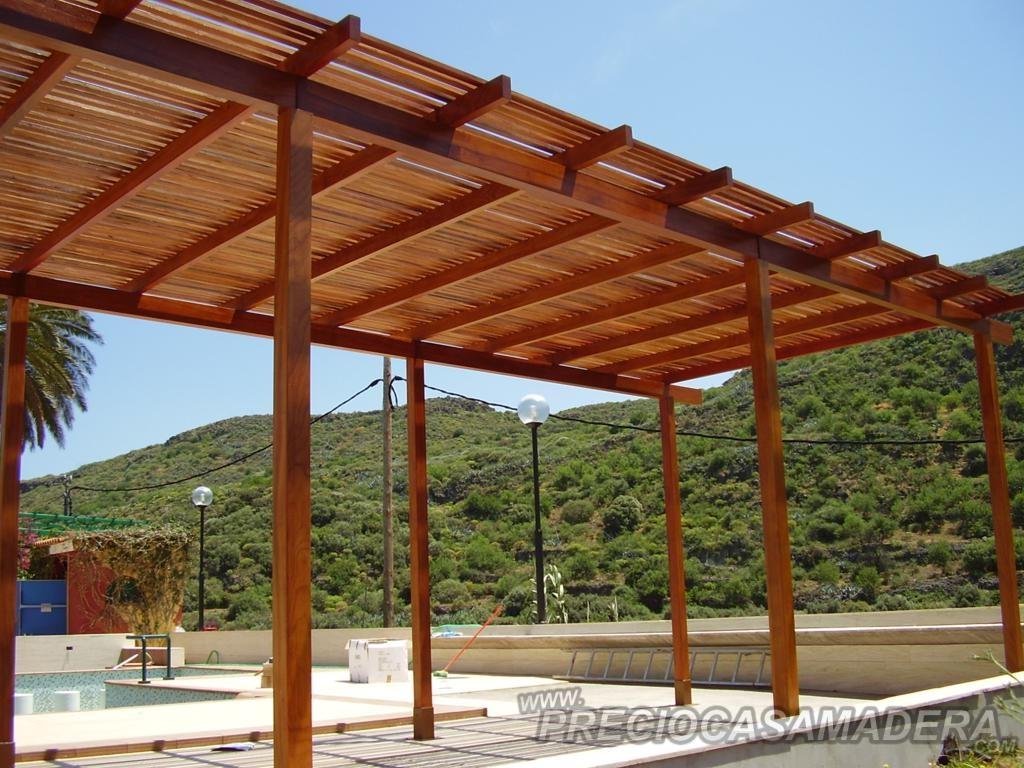 Dudas sobre las pergolas - Casas de Madera y bungalows en Tarragona ...